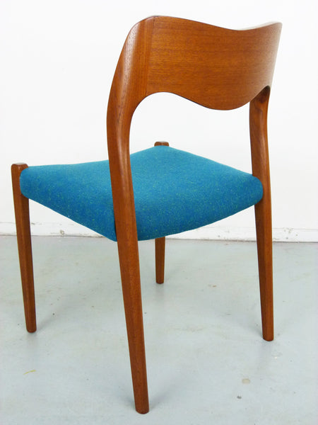 Niels Moller No. 71 Danish Modern Teak Dining Chairs Img 7