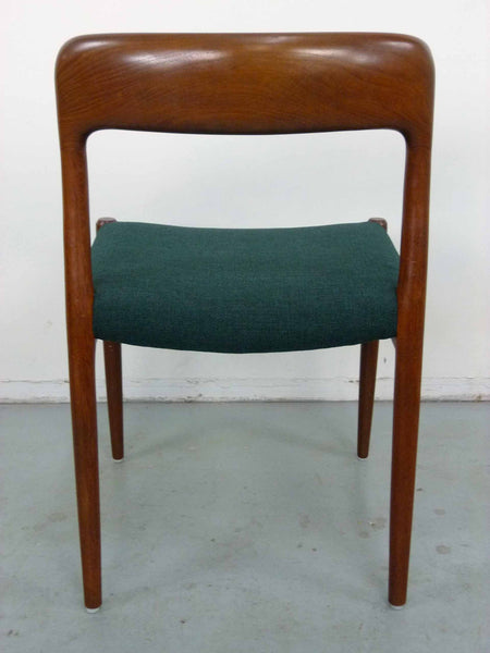 Niels Moller #75 Teak Dining Chairs Back