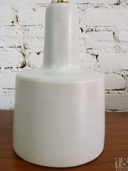 Gordon Martz for Marshall Grey Ceramic Table Lamp