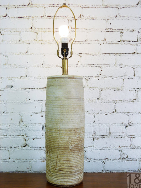 Table Lamp by Bob Kinzie for Afflliaited Craftsmen