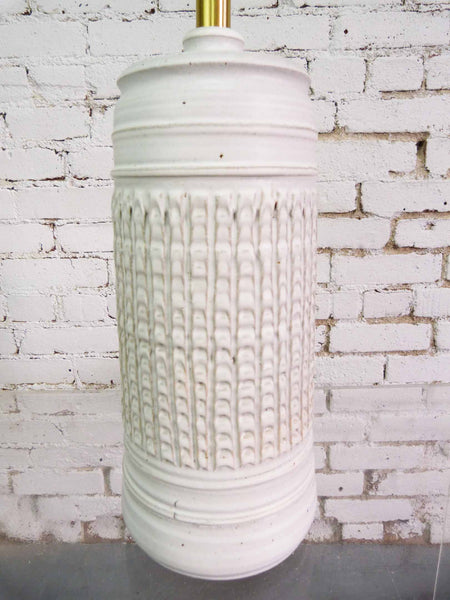 Bob Kenzie for Affiliated Craftsman Studio Pottery Table Lamp Img 2