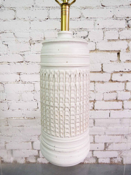Bob Kenzie for Affiliated Craftsman Studio Pottery Table Lamp Img 3