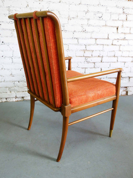 John Widdicomb J. Stuart Clingman Dining Table Chairs Mid-Century Img 5