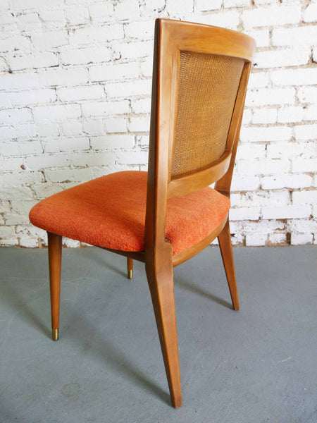John Widdicomb J. Stuart Clingman Dining Table Chairs Mid-Century Img 6