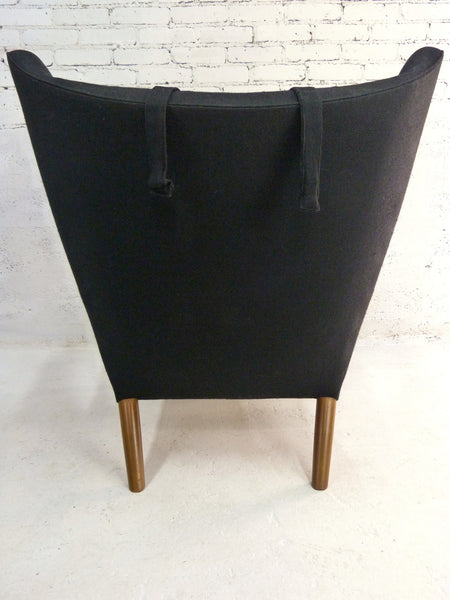 AP-19 Original Papa Bear Chair by Hans Wegner for AP Stolen - Black 3