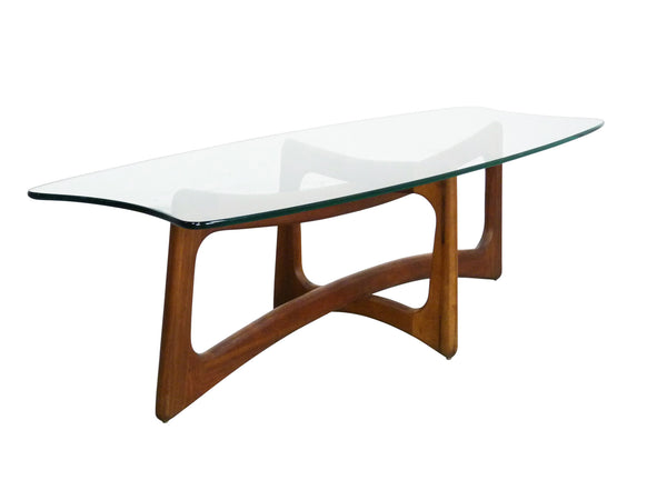 Adrian Pearsall Model 2454-TGO Ribbon Coffee Table Scultpural Img 1