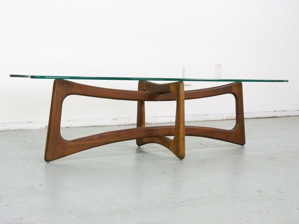 Adrian Pearsall Model 2454-TGO Ribbon Coffee Table Scultpural Img 3