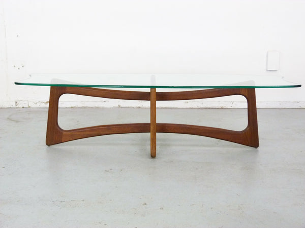 Adrian Pearsall Model 2454-TGO Ribbon Coffee Table Scultpural Img 4