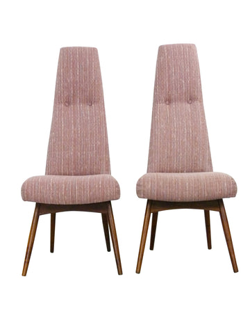 Adrian Pearsall for Craft Associates 2051-C Side Chairs Mid-Century 1