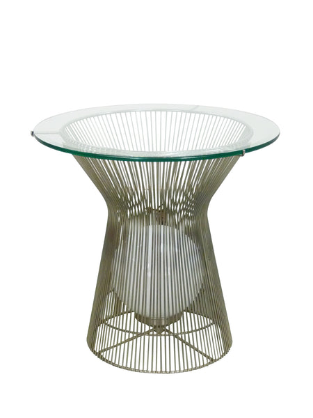 Warren Platner Style Table with Light Knoll 1