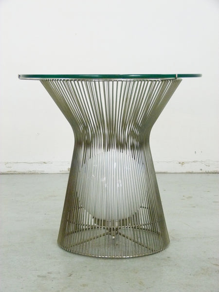 Warren Platner Style Table with Light Knoll 2