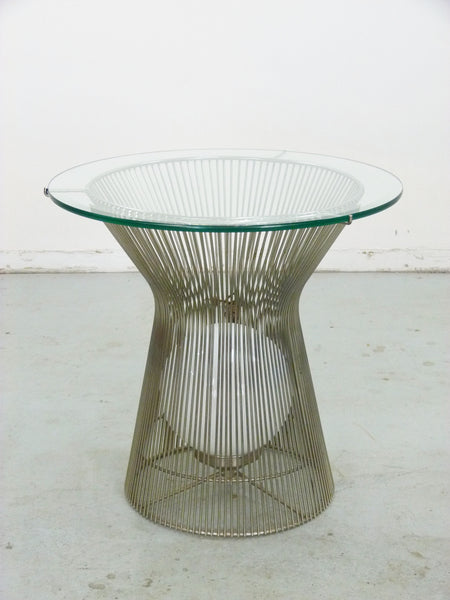 Warren Platner Style Table with Light Knoll 3