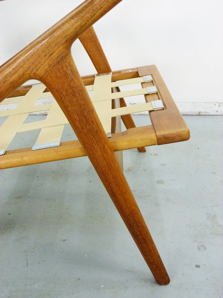 Poul Jensen for Selig Teak Z-Lounge Chair Img 12