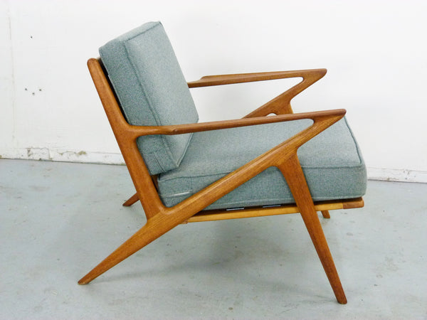 Poul Jensen for Selig Teak Z-Lounge Chair Img 2