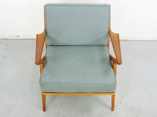 Poul Jensen for Selig Teak Z-Lounge Chair Img 4