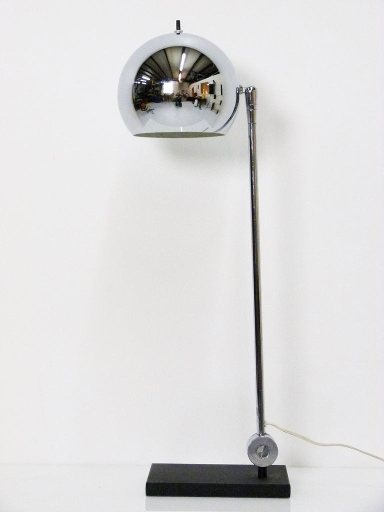 Chrome Ball Desk Lamp By Robert Sonneman Oneandhome