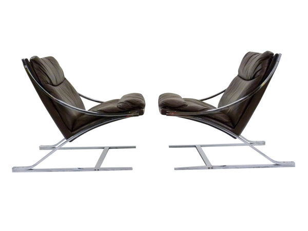 Zeta Z Lounge Chair Paul Tuttle Strassle Mid-Century 2