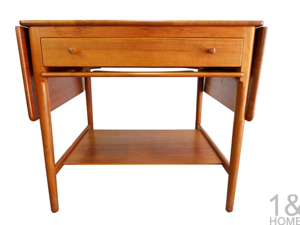 Danish Modern sewing table Hans Wegner Andreas Tuck Model AT-33 img 1