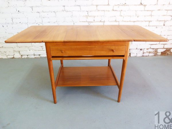 Danish Modern sewing table Hans Wegner Andreas Tuck Model AT-33 img 3