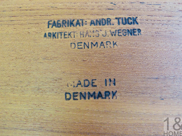 Hans Wegner Teak Sewing Table