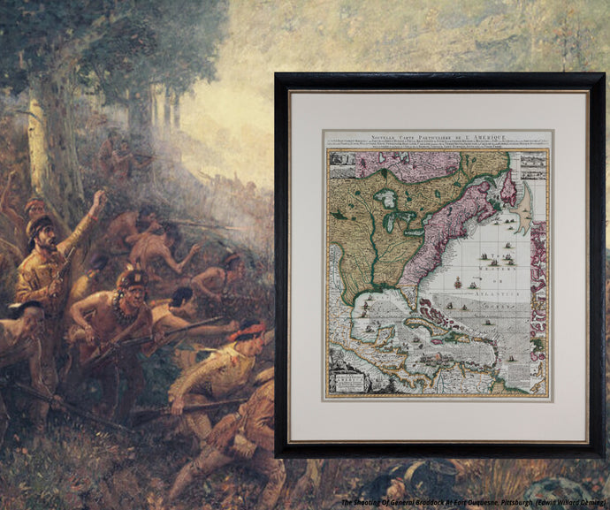 Framing Antique Maps