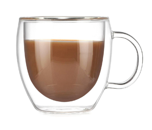 200ml Double-Layer Glass Coffee Cup