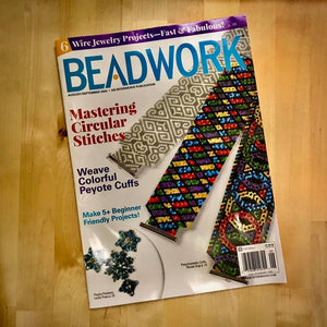 Featured in Beadwork Magazine