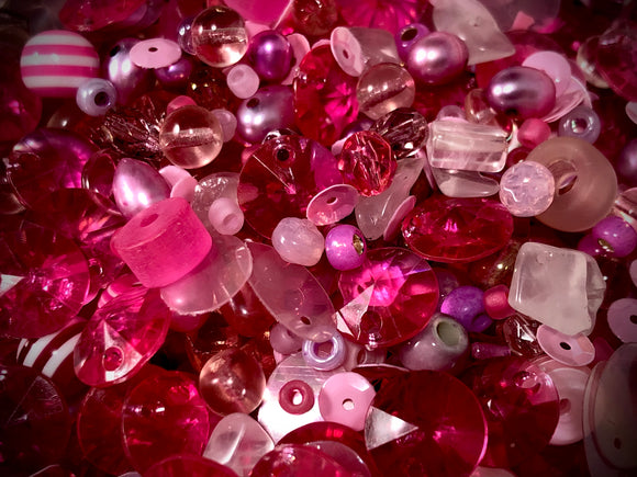 Rainbow Luxury Bead Blend — Pink