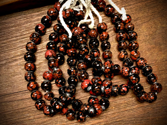 Manik Manik Indonesian Glass Bead Strand