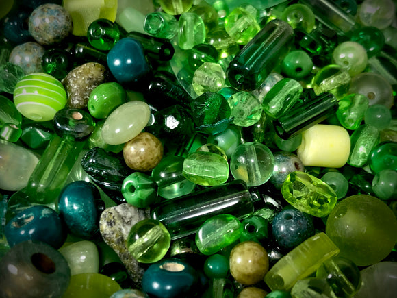Rainbow Luxury Bead Blend — Green