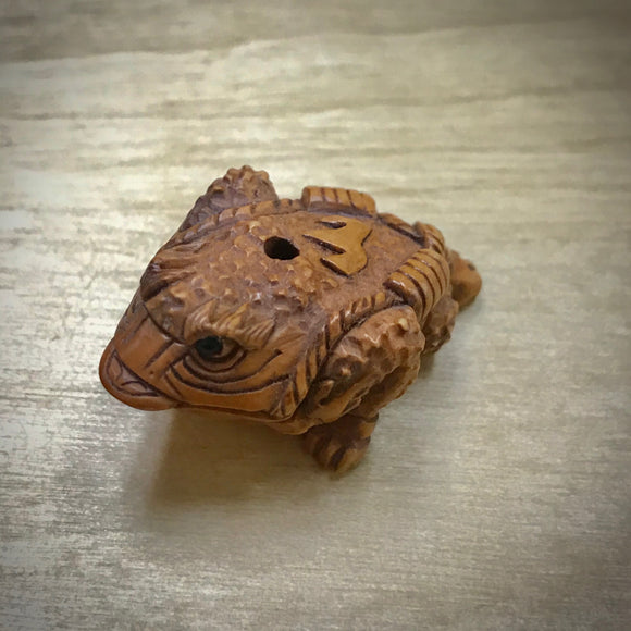 Hand-Carved Ojime Bead