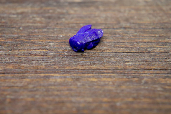 Hand-Carved Lapis Lazuli Bee Bead #2