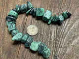 Ruby in Zoisite Large Chip/Pebble Beads