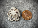 Peruvian Ceramic Bead—Octopus