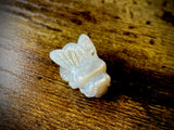 Hand-Carved Mother of Pearl Bee Bead #1