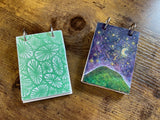 Artist Trading Card Book Pendant Kit