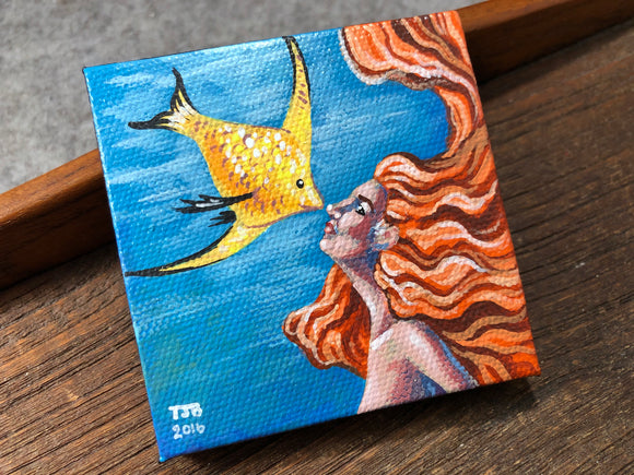 Mermaid Painting by Todd Beisel #8