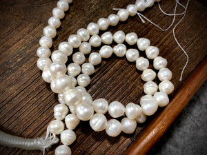 Large White Freshwater Pearls