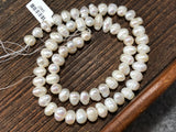 Medium Baroque White Vintage Freshwater Pearls