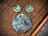 Marsha Neal Studio Charm and Pendant Set—Windswept—Tidal Pool