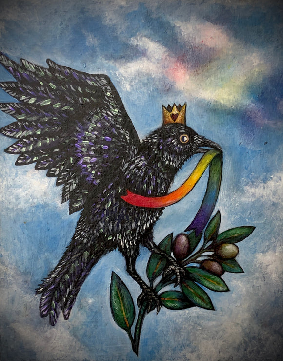 Pride Crow by Andrew Thornton