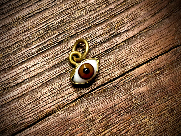 Tiny Glass Eye Pendant/Charm (2mm-10mm) - 3423