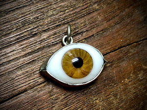 Large Glass Eye Pendant/Charm (25mm-29mm) - 3420