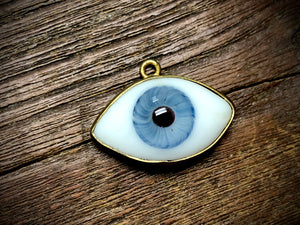 Extra Large Glass Eye Pendant/Charm (30mm-40mm) - 3419