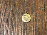 Bronze Four Elements Water Charm
