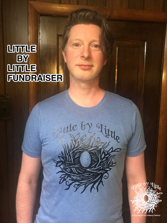 Allegory Gallery Little by Little Fundraiser T-Shirt