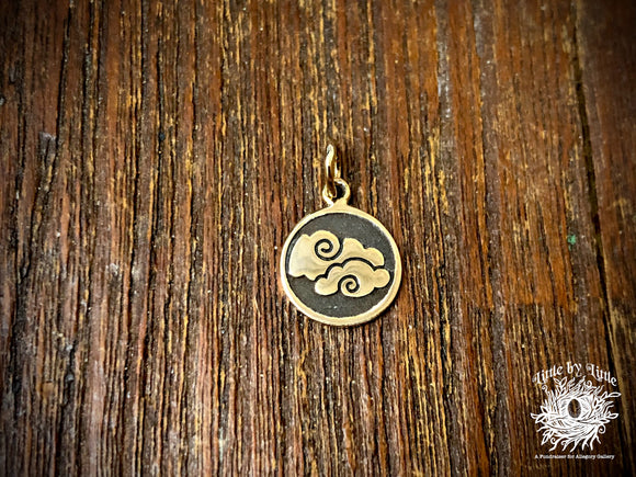 Bronze Four Elements Air Charm