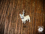 Sterling Silver French Bulldog Dog Charm