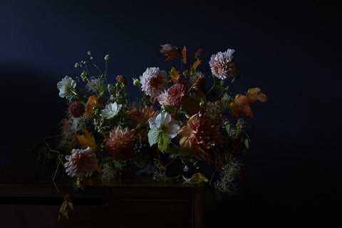 Social Print Studio x TAQ collaboration: Catskill Fall Floral #1
