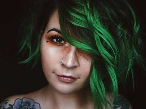 Arctic Fox Hair Color Spotlight | Phantom Green